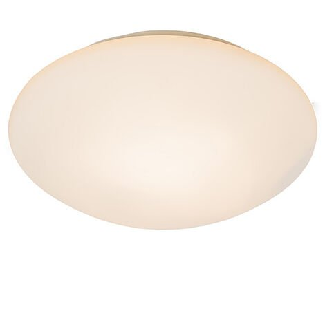 Ceiling light white with motion detector IP44 - Motion IV