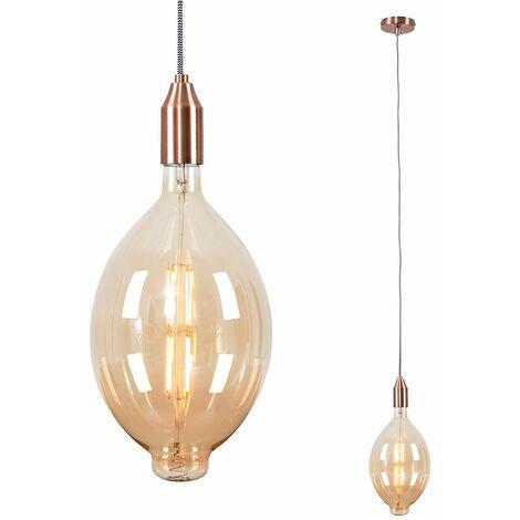 Ceiling Rose Braided Flex Lamp Holder Pendant Light