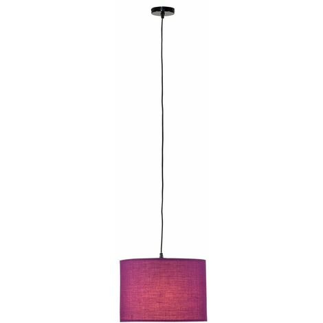 Ceiling Rose Braided Flex Lampholder Pendant Light