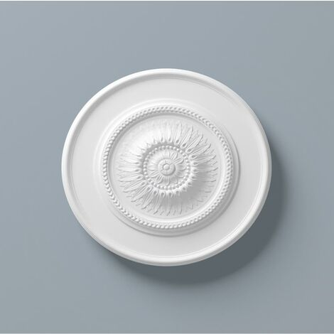 Ceiling Rose R10 600mm Resin Strong Lightweight Not Polystyrene Easy Fix