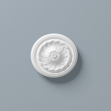 Ceiling Rose R5 400mm Resin Strong Lightweight Not Polystyrene Easy Fix