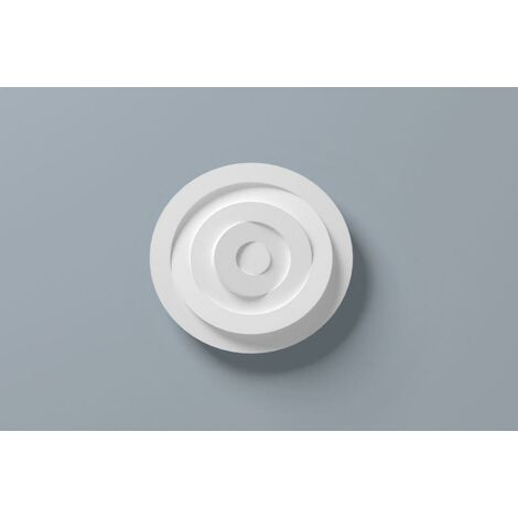 Ceiling Rose R5 400mm Resin Strong Lightweight Not Polystyrene Easy Fix