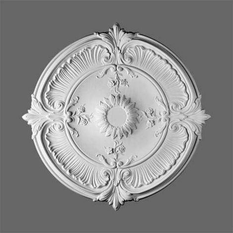 Ceiling Rose Rosette Orac Decor R73 LUXXUS Medallion Centre high quality classic decor white 70 cm = 27 inch diameter