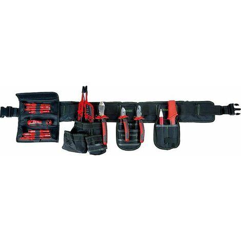 ceinture pour outils VDE plus 1000V, 13 pièces, 320x190x280mm