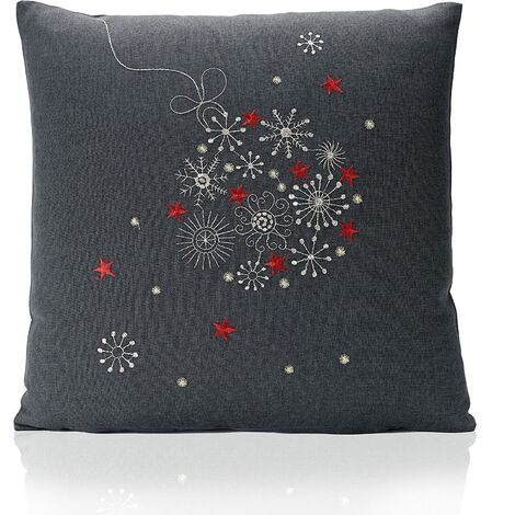 """Celebration Cushion Cover 18"""" Bed Sofa Accessory Unfilled"""