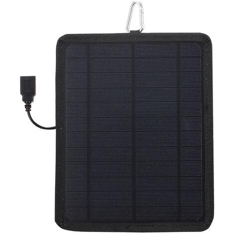 Cell 5.3W 6V panel solar de silicio monocristalino solar, con el panel solar portatil de corriente USB Poat bricolaje