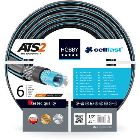"Cellfast Tuyau d'arrosage 3/4"" - Hobby ATS 16-221 - longueur 50m"