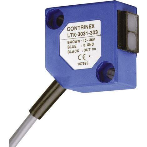 Cellule photoélectrique réflexion directe Portée (détails) 0 - 600 mm Contrinex LTK-3031-303