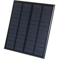 Cellule Solaire De Panneau Solaire De 3W 12V Pour Le Chargeur De Puissance De Diy