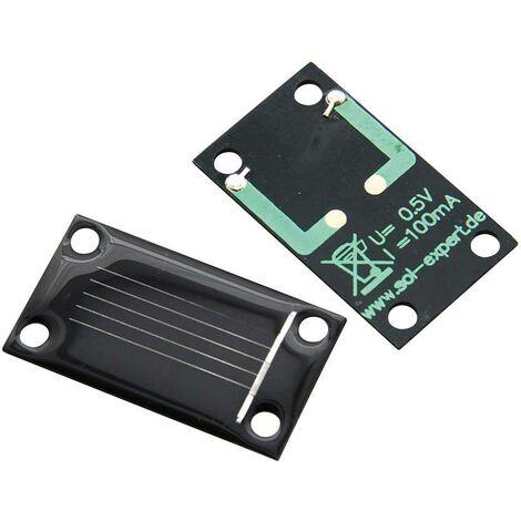 Cellule solaire Sol Expert SM80L Amorphe 0.5 V 80 mA raccord à souder 1 pc(s) Q07191
