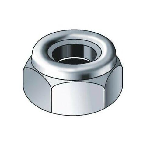 CELO 3985 - écrou à verrouillage automatique insertion en nylon de zinc DIN 985 M3 1000 ud