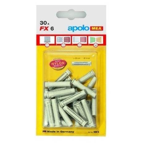 CELO 58FX20 Blister taco de nylon multimaterial de cuádruple expansión FX 8 (Envase 20 ud)
