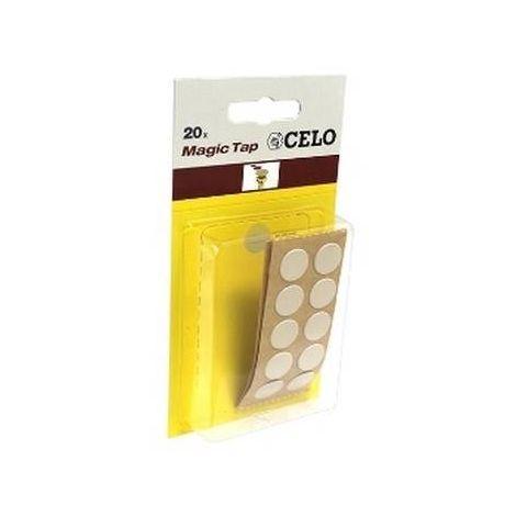 CELO 5BEMT20 Blister Tapón adhesivo MTAP Color Beige (Envase 20 ud)