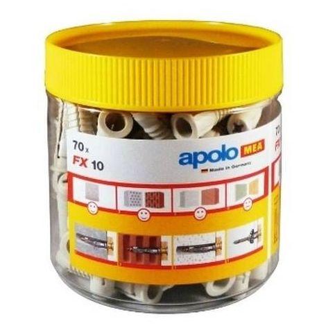 CELO 910EXPFX Taco de nylon multimaterial de cuádruple expansión FX 10 sueltos (Envase 10 ud)