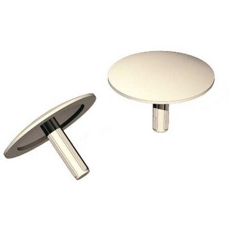 CELO 91NICEC Tapón embellecedor pincho NICEN para compactos NICE blanco (Envase 1000 ud)