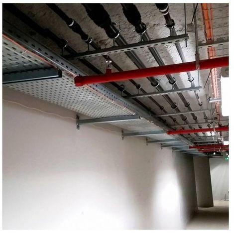 CELO 92718200SPE Soporte perfil 27x18x200 SPE para la fijación mural horizonal de tubos y bandejas (Envase 20 ud)