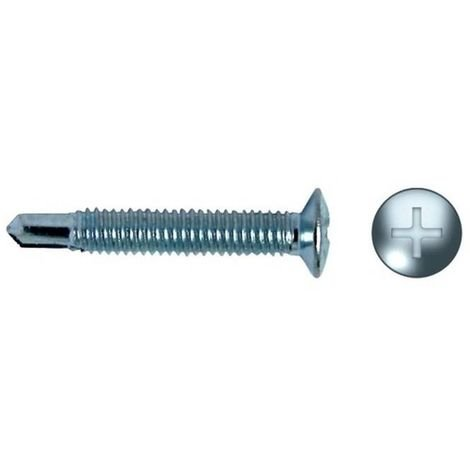 CELO 9410HM Tornillo punta broca fijación herrajes impronta PH HM 4x10 zincado (Envase 500 ud)