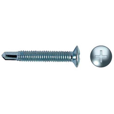 CELO 9419HM Tornillo punta broca fijación herrajes impronta PH HM 4x19 zincado (Envase 500 ud)