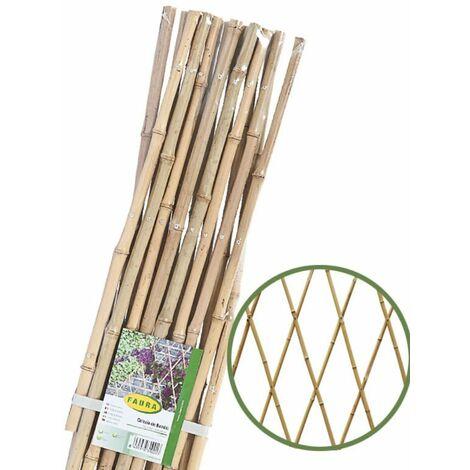 Celosía Extensible de Bambu - FAURA - 90 x 240 -