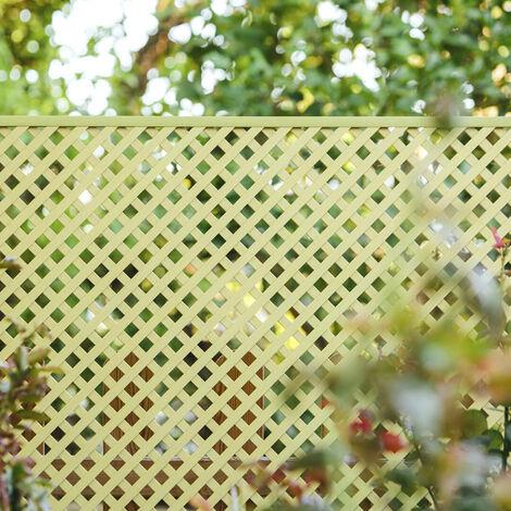 CELOSÍA FIJA PVC MARFIL 18 MM