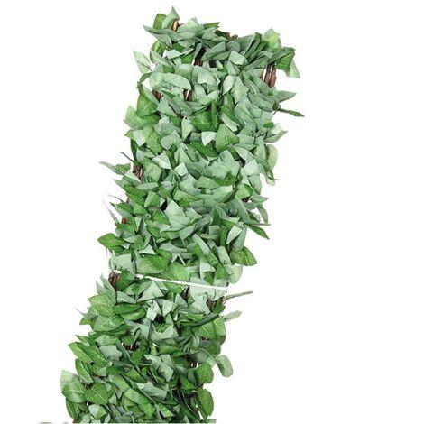 Celosía mimbre hojas de arce