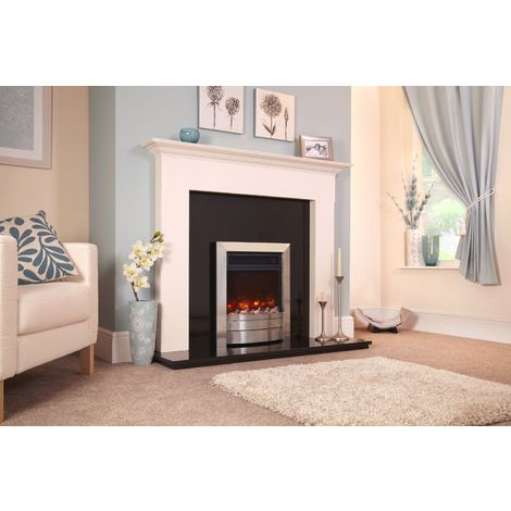 Celsi Electriflame Xd Essence Hearth Mounted Electric Fire Black