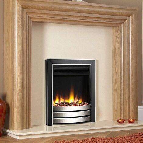 Celsi Ultiflame VR Inset Designer Electric Fire Fireplace Heating Eco LED Black