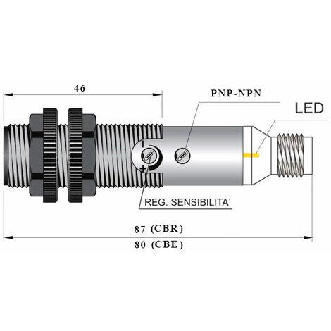 Célula Fotoeléctrica FT18SM-CP50