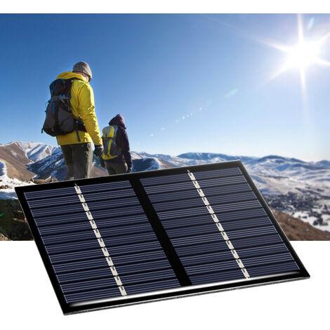 Celula solar del panel solar del silicio policristalino de 1.5W 12V, para el cargador de energia de DIY 115 * 90m m