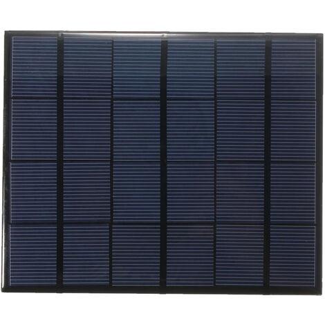 Celula solar del panel solar del silicio policristalino de 3.5W 6V, para el cargador 165 * 135m m de la energia de DIY