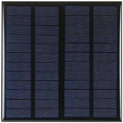 Celula solar del panel solar del silicio policristalino de 3W 12V, para el cargador de energia de DIY