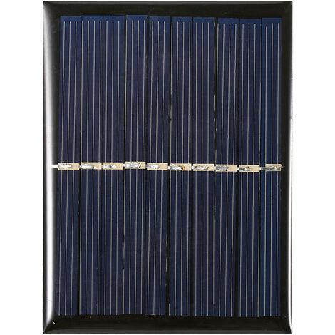 Celula solar del silicio policristalino del mini panel solar de 0.7W 5V pequena