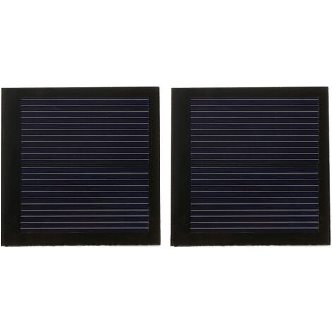 Celula solar del silicio policristalino del panel solar de 2PCS 0.2W 1V