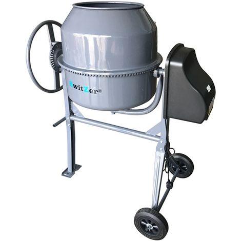 Cement Mixer 180L Grey