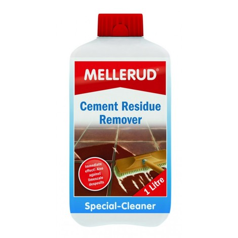 Cement Residue Cleaner - Clean Paths Walls Bricks Concrete Dust Stains