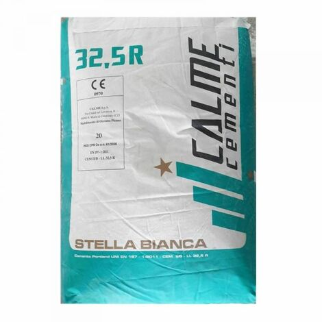 CEMENTO BIANCO R 32,5 25KG I.DESIGN AQUILA BIANCA