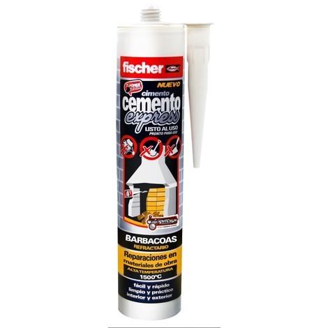 Cemento Cart Gris Osc Barbacoa 5X130Cm - FISCHER - 514853