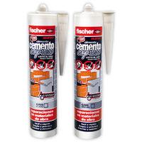 Cemento Cartucho Gris Oscuro - FISCHER - 512348 - 300 ML