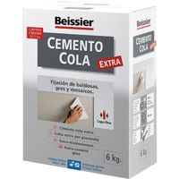 Cemento Cola Extra Gris - BEISSIER - 769 - 6 KG