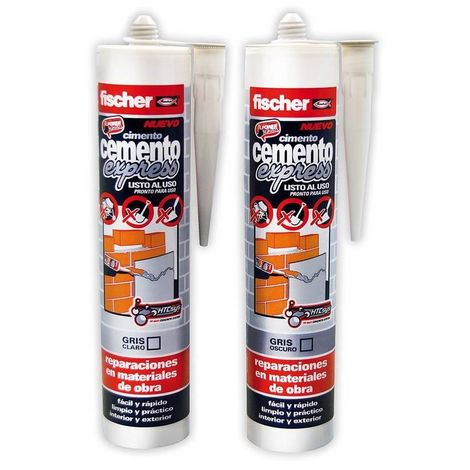Cemento express 310 ml fischer - varias tallas disponibles