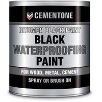 Cementone Bituminous Black Paint 2.5L