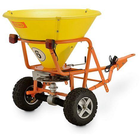 CEMO Chariot d'épandage grande capacité - largeurs max. d'épandages 5 m - capacité cuve 200 l