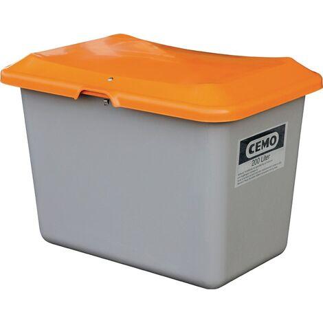 CEMO Streugutbehälter 200l - aus glasfaserverstärktem Kunststoff