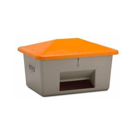 CEMO Streugutbehälter aus GfK - mit Entnahmeöffnung - Inhalt 550 l, Gewicht ca.