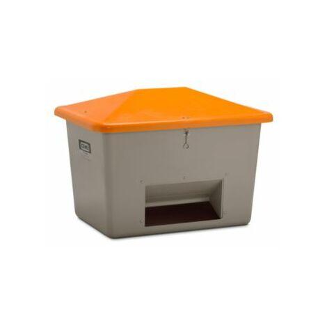 CEMO Streugutbehälter aus GfK - mit Entnahmeöffnung - Inhalt 700 l, Gewicht ca.