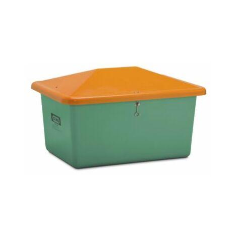 CEMO Streugutbehälter aus GfK - Volumen 550 l, ohne Entnahmeöffnung, Behälter