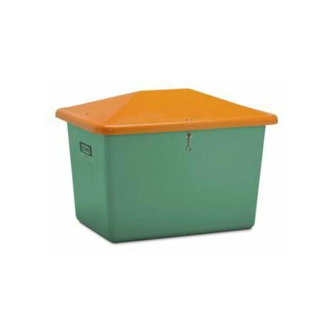 CEMO Streugutbehälter aus GfK - Volumen 700 l, ohne Entnahmeöffnung, Behälter