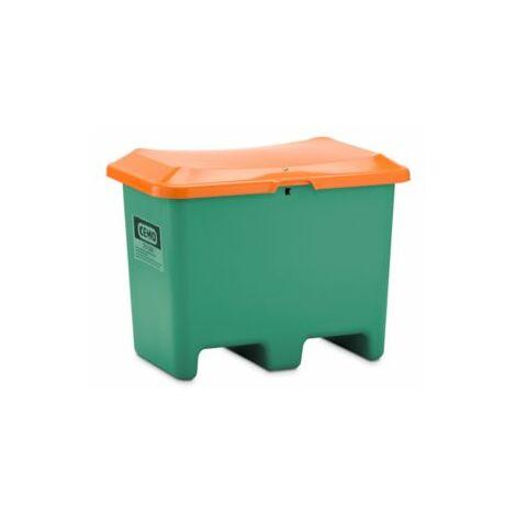 CEMO Streusalz-Box aus GfK - Volumen 200 Liter, unterfahrbar