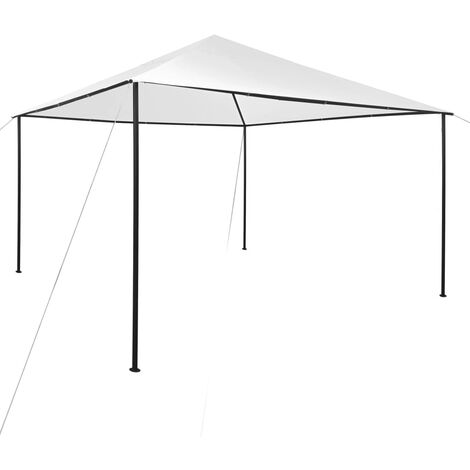 Cenador blanco 4x4x2,7 m 180 g/m² - Blanco