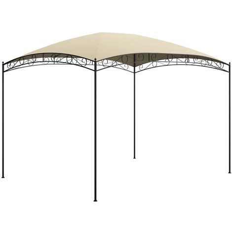 Cenador crema 3x4x2,65 m 180 g/m² - Crema